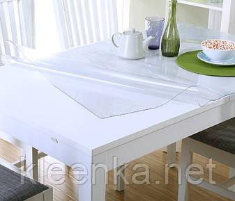 Прозрачное покрытие для мебели, м'яке скло для захисту дерев'яних та скляних поверхонь, фото 2