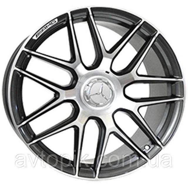 Литые диски Replica Mercedes (MR251) R20 W8.5 PCD5x112 ET39 DIA66.6 (GMF)