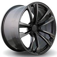 Литые диски Vissol F-681 R20 W10 PCD5x120 ET40 DIA74.1 (gloss graphite)