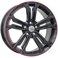 Литые диски WSP Italy Volkswagen (W471) Naxos R18 W7.5 PCD5x112 ET49 DIA57.1 (gloss black polished)