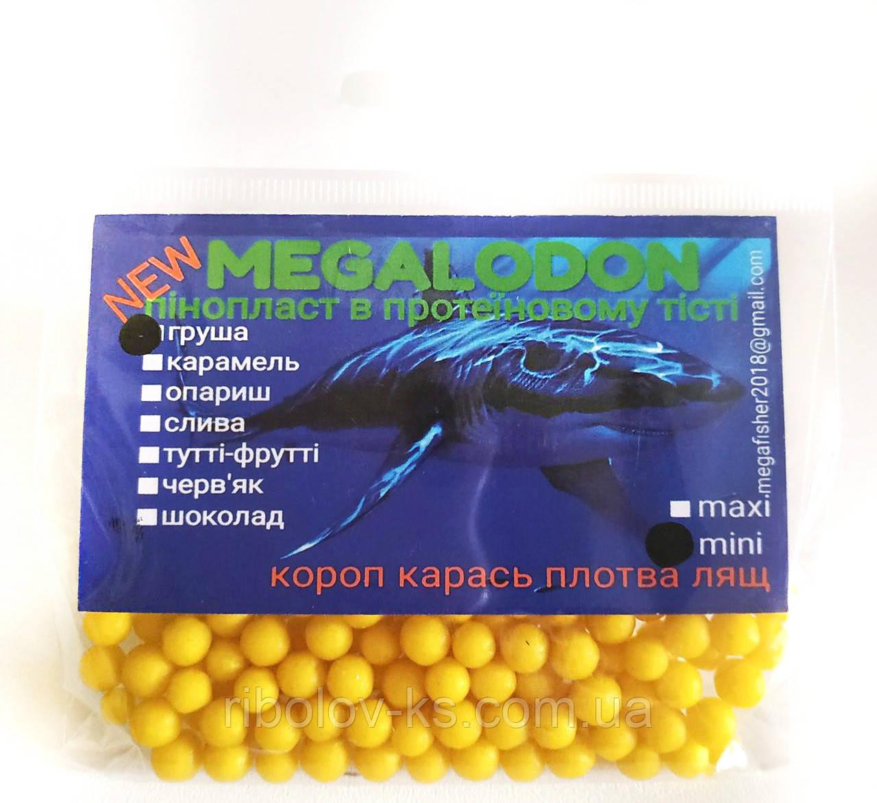 Пенопласт съедобный в протеиновом тесте Мегаладон mini Карамель
