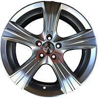 Литые диски Autom A-561 R14 W6 PCD4x98 ET35 DIA58.6 (silver)