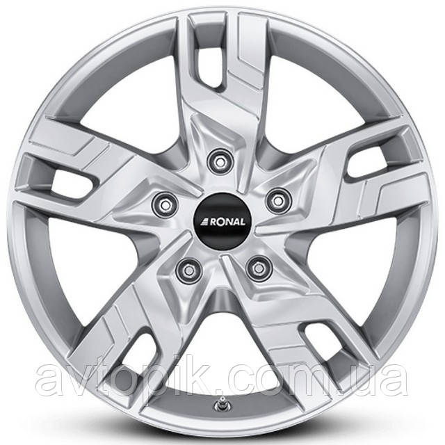 Литые диски Ronal R64 R17 W7 PCD5x120 ET55 DIA65.1 (silver)