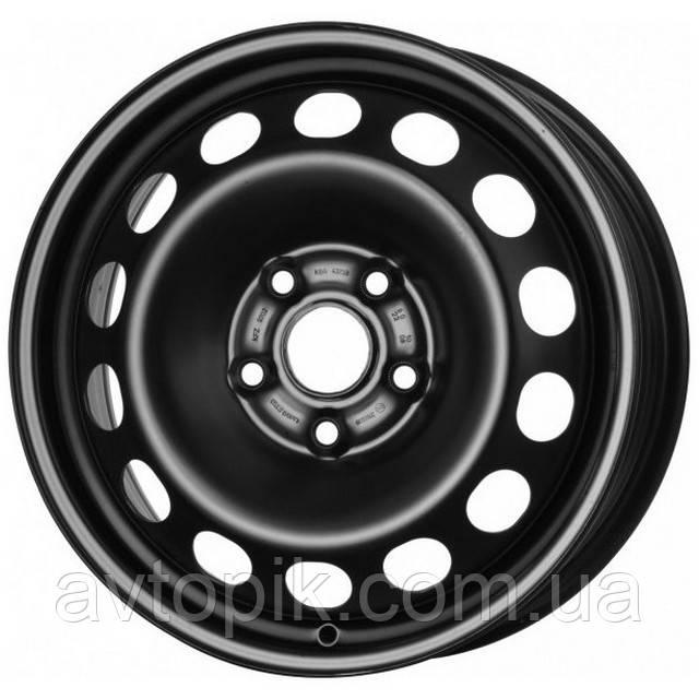 Стальные диски Кременчуг Geely Emgrand EC7 R15 W6.5 PCD5x114.3 ET45 DIA67.1 (black)