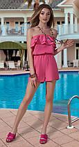 Модный женский комбинезон с шортами, фото 3