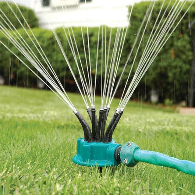Спринклерный ороситель 360 multifunctional Water Sprinklers распылитель для газона, полив газона