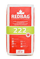 Клей для приклеивания и армирования пенополистирола и минеральной ваты 222 Redbag 25 кг (48 шт/паллета.), фото 1