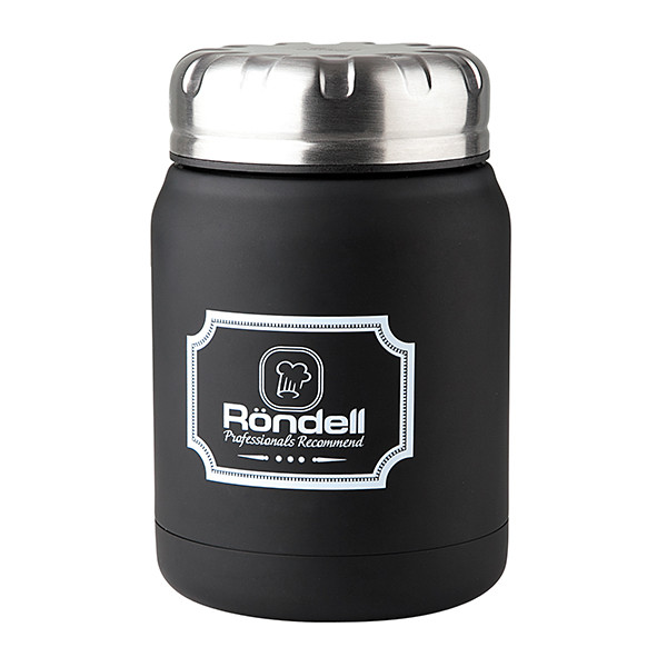 Термос для еды RONDELL Picnic Black