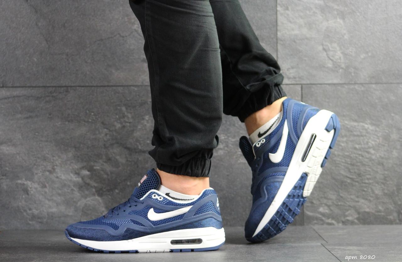 Мужские кроссовки Nike Air Max Zero QS,синие с белым