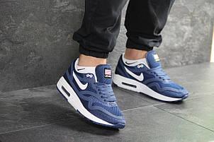 Мужские кроссовки Nike Air Max Zero QS,синие с белым, фото 2