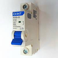 Автоматический выключатель 1 полюс 32А NXB-63 Chint