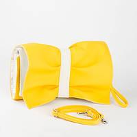Клатч Butterfly желто-белый флай, фото 1