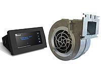 KG Elektronik CS-18, SP-18z Автоматика для котла со шнеком+ вентилятор Nowosolar NWS 100, фото 1