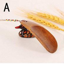 Деревянная ложка для обуви маленькая