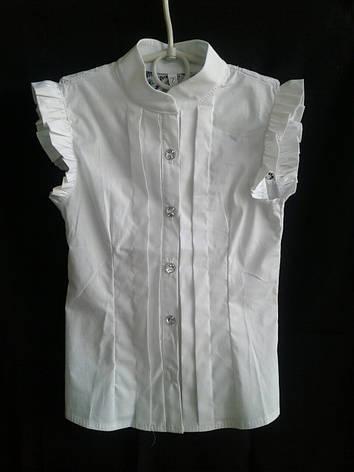 Блузка для девочки в школу р. 122-146 опт, фото 2