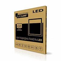 Eurolamp 40W 3300Lm 4000К/5500К Ra93 (промонабор - 2в1) светодиодная LED-панель 600х600