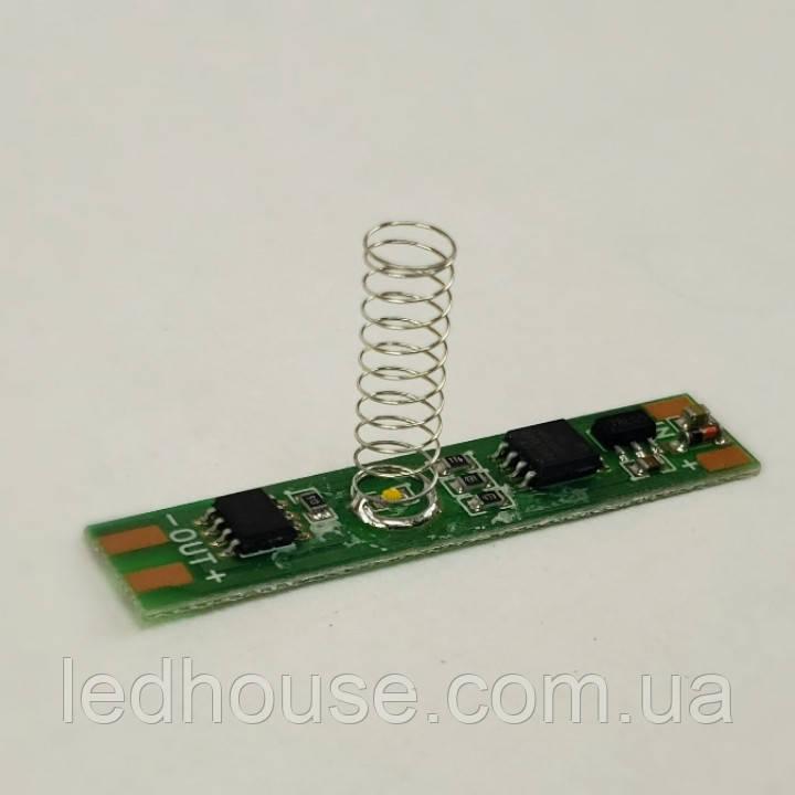 Сенсорный димер выключатель для светодиодного профиля 12-24v 5A
