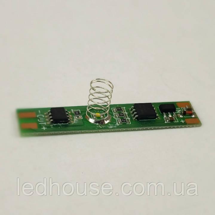 Диммер+выключатель сенсорный для LED ленты 12/24V