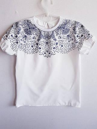 Блузка короткий рукав  , фото 2