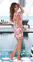 Короткое красивое женское платье , фото 3