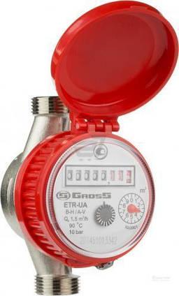 Лічильник Води Gross ETR-UA 1.5 Гарячий