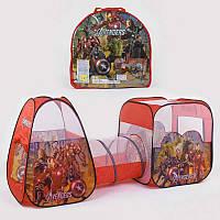 Детская игровая палатка с туннелем Супергерои 8015 AS