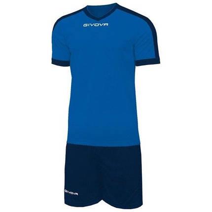 Футбольная форма Givova Revolution KITC59-0204 Темно-синий Размер XL (8034044647046), фото 2