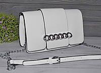 Белая сумка кросс боди, фото 1