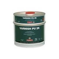 Ваниш ПУ 2К глянец (5 кг) 2-компонентное прозрачное не желтеющее полиуретановое покрытие на растворителе.