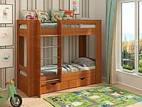 Детская двухъярусная кровать Дуэт-3