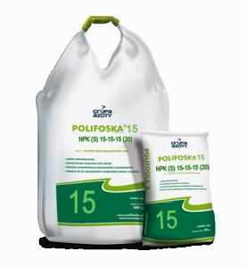 Универсальное удобрение NPK(S) POLIFOSKA 15