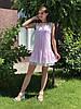 Женское льняное платье   Poliit 8474
