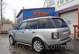Ветровики Cobra Tuning на авто Land Rover Range Rover III 2002-2012 Дефлекторы окон Ленд ровер Рендж Ровер 3