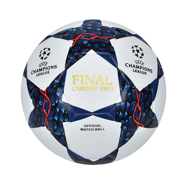 Мяч футбольный №5 PU HYDRO TECNOLOGY SHINE CHAMPIONS LEAGUE FINAL