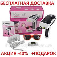 Эпилятор свето фото лазерный Original size KEMEI KM6812-QS3 для лица и тела с технологией IPL