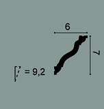 Карниз потолочный гладкий Orac Decor Axxent CX177 7 x 6 x200 см лепной декор из дюр полимера, фото 2