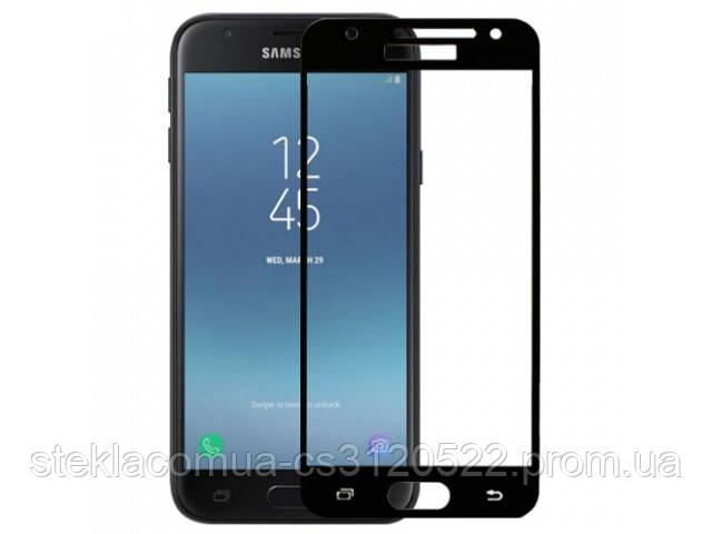 Защитное стекло 5D Samsung J3 (J320/J500) 2016 Black