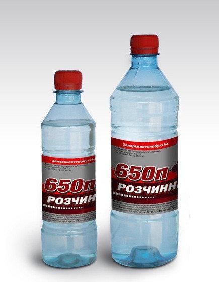 Растворитель 650 П 0,9л