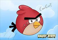 "Магнит сувенирный ""Angry Birds"" 01"