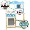 Дитяча дерев'яна кухня EcoToys TK040 + 7 аксесуарів (8099), фото 7