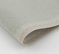 Ткань равномерного переплетения Zweigart Brittney Lugana 28 3270/7095 Fayence Grey (Фаянсовый серый)