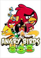 "Магнит сувенирный ""Angry Birds"" 02"