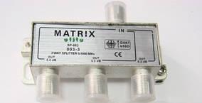 Разветвитель Matrix Splitter 3-WAY SP-003 R150778