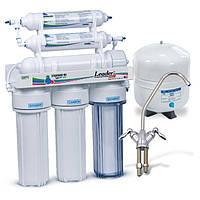 Фильтр для очистки воды - система обратного осмоса Leader Standard RO-6  МТ18  + Filmtec
