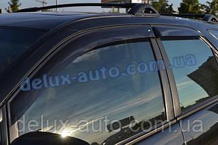 Ветровики Cobra Tuning на авто Lexus LX (J200) 2008 Дефлекторы окон Кобра для Лексус ЛХ с 2008
