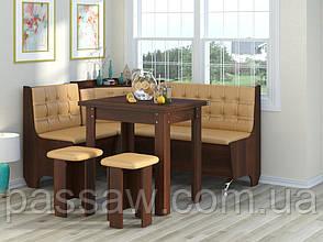 Кухонный уголок с раскладным столом Маршал
