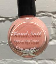 Лак- краска для стемпинга Kand Nail 10 ml , нежно-розовая