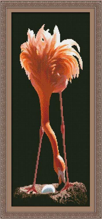 Фламинго 0121 Набор для вышивки крестом фирма Юнона