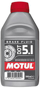 Тормозная жидкость 100% синтетическая MOTUL DOT 5.1 (0.5L)
