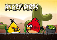 "Магнит сувенирный ""Angry Birds"" 11"
